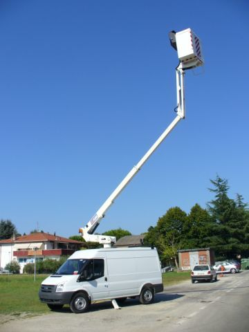 MEWP Rentals - 3.5t Transit Van Fitted With 14m Tower
