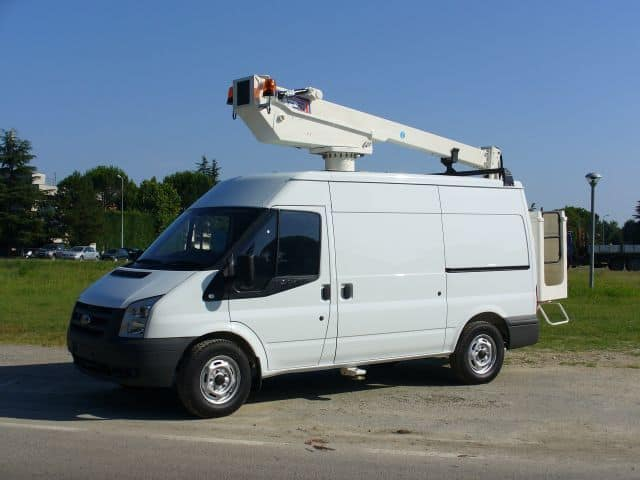 MEWP Hire - 3.5t Transit Van Fitted With 14m Tower