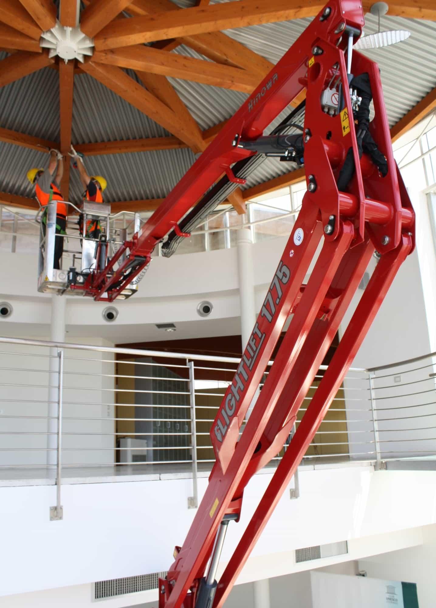Spider Lift Rental - Hinowa Light Lift 17.75 IIIS Performance