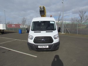2015 3.5t Ford Transit Van fitted with 12.5m Versalift ET36LF Boom Lift