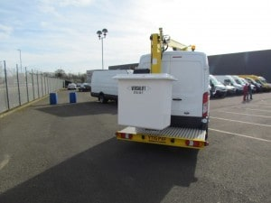 3.5t Ford Transit Van fitted with 12.5m Versalift ET36LF Boom Lift 2015