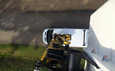 New Van Mounts Hard at Work