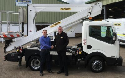 NEW 3.5 ton NISSAN CABSTAR with a 20M PLATFORM JOINS THE FLEET